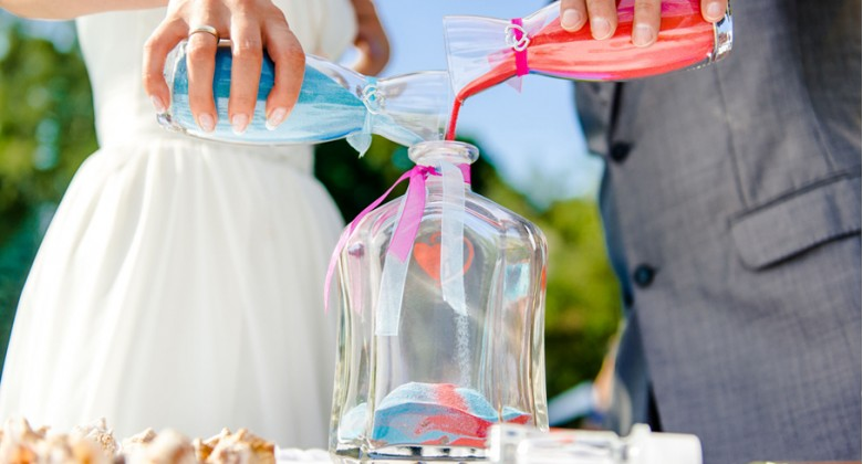 Colorful Wedding Trend: Unity Sand Ceremony