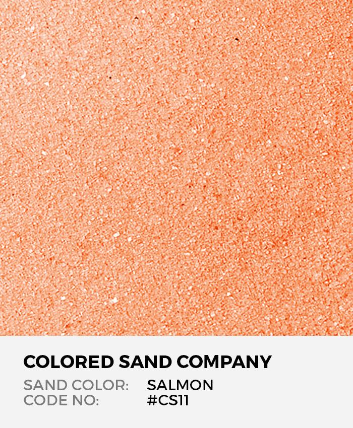 Salmon #CS11 Classic Colored Sand Art Material