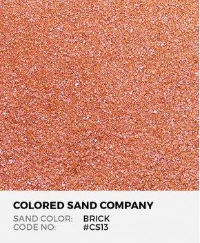 Brick #CS13 Classic Colored Sand Art Material