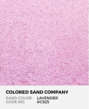 Lavender #CS25 Classic Colored Sand Art Material