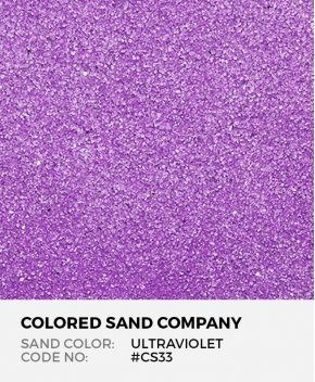 Ultraviolet #CS33 Classic Colored Sand Art Material