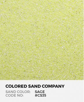 Sage #CS35 Classic Colored Sand Art Material