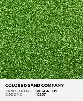 Evergreen #CS37 Classic Colored Sand Art Material