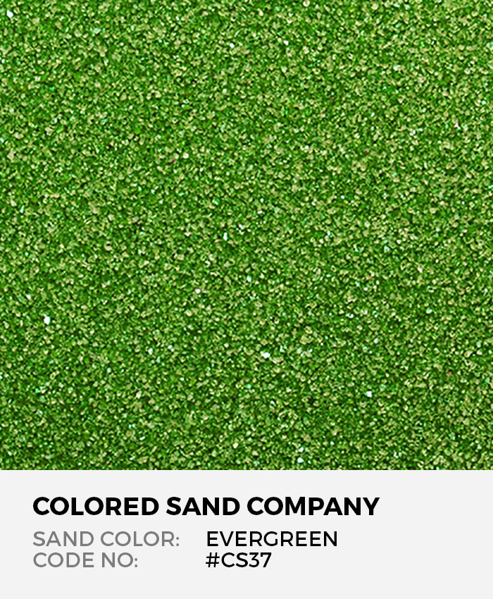 Evergreen #CS37 Classic Colored Sand Art Material