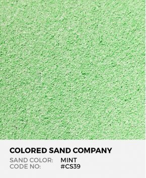 Mint #CS39 Classic Colored Sand Art Material