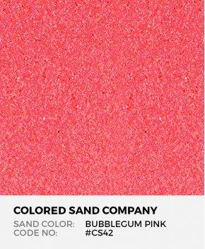 Bubblegum Pink #CS42 Classic Colored Sand Art Material