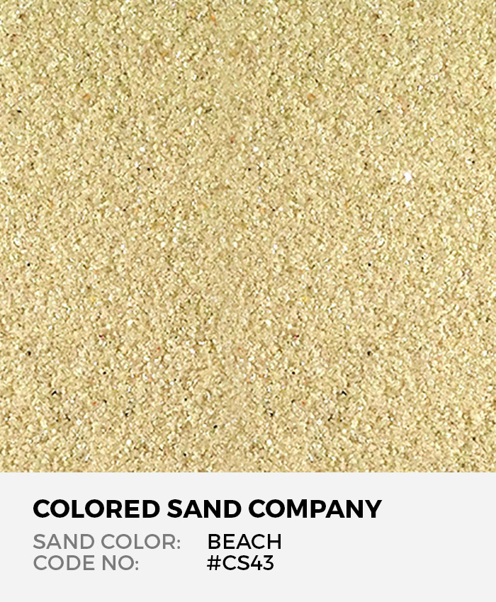 Beach #CS43 Classic Colored Sand Art Material