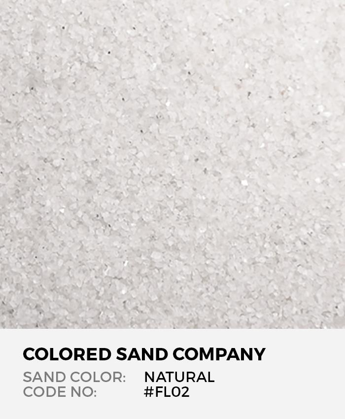 Natural #FL02 Floral Colored Sand Art Material