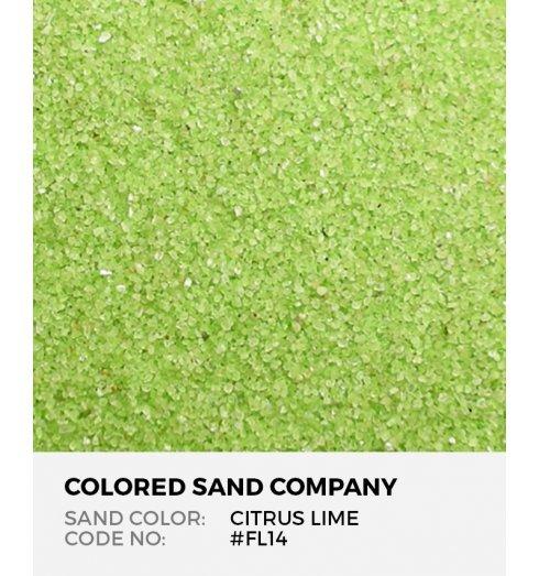 Citrus Lime Fl14 Fl Colored Sand Art Material