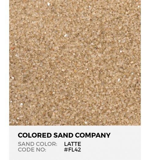 Latte Fl42 Fl Colored Sand Art Material