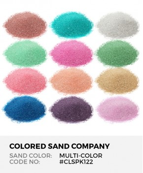 12pc Multi-Color Sand Assortment - Class Pack 2