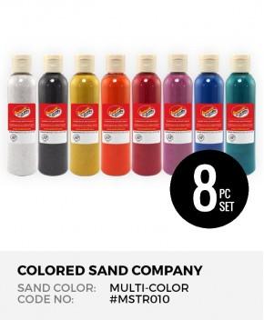 8pc Multi-Color Sand Assortment - Mini Starter Set