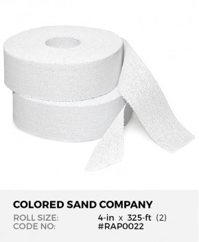 Plaster of Paris Gauze Bandage, 4-in x 325-ft Roll (2)