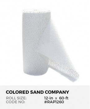Plaster of Paris Gauze Bandage, 12-in x 60-ft Roll