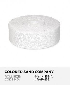 Plaster of Paris Gauze Bandage, 4-in x 135-ft Roll