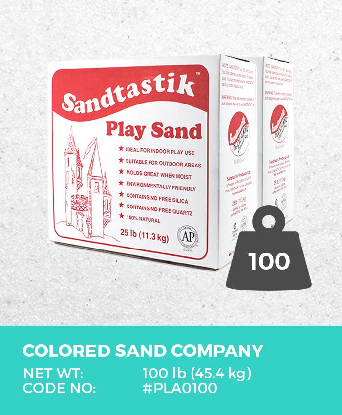 Play Sand, Sparkling White, 100 lb