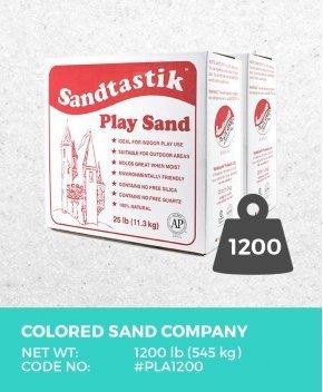 Sparkling White Play Sand, 1200 lb (545 kg) Bulk