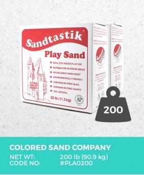 Sparkling White Play Sand, 200 lb (90.7 kg) Bulk