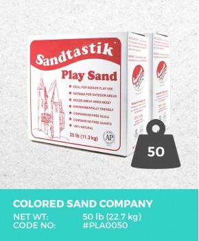 Sparkling White Play Sand, 50 lb (22.7 kg) Bulk