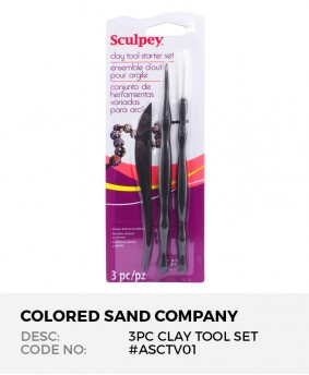 Sculpey Clay Tool Starter Set (3pc)