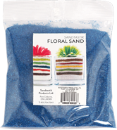 Floral Colored Sand, 1 lb (454 g), Blue Hawaii