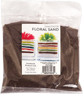 Floral Colored Sand, 1 lb (454 g), Coffee