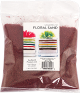 Floral Colored Sand, 1 lb (454 g), Dark Red