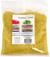 Floral Colored Sand, 1 lb (454 g), Yellow