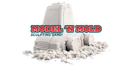 Model 'N Mold Sculpting Sand - Sculpt your imagination!