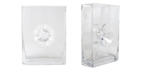 Unity Sand Ceremony Clear Glass Eternity Vase